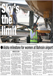 Milestone for Women at Bahrain Airport Services