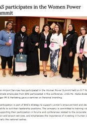BAS participates in the Women Power Summit