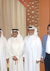 Salman Saleh Al Mahmeed and Team