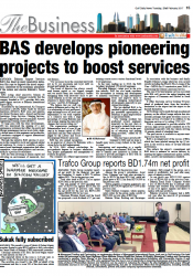 BAS Develops Pioneering Projects to Boost Services